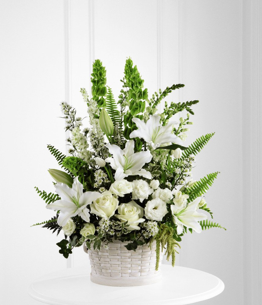 Buy floral gifts for different occasions apple blossom flower sympathy flowers in white blooms solutioingenieria Gallery