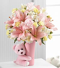 Floral Gifts for New Baby and New Mother - Apple Blossom ...